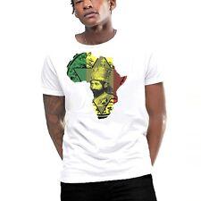 Jah Rastafari T-Shirt Haile Selassie I Hail Him The Conquering Lion Of Judah tee