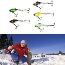 Calidad balanceador artificialmente duro invierno cebos para pescar jigging hielo anzuelos