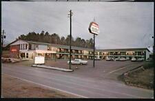 CALHOUN GA Holiday Hills Motel Vintage Night View Cars Postcard Old Georgia PC