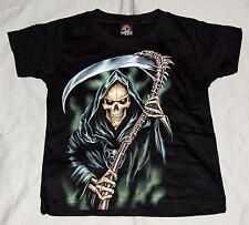 enfants T-shirt homme à faux Grim Reaper gr. 2-4 ans bis 8-10 ans Offre spéciale