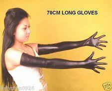 """70cm(27.5"""") Super Soft 100% Echt Leder lange Handschuhe Opera Handschuhe DE"""