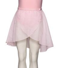 Girls Pale Pink RAD Long Georgette Dance Ballet Skirt All Sizes By Katz KDGR03