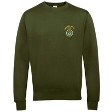 HMS Ark Royal Sweatshirt with Embroidered Logo