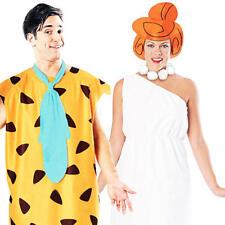 FRED + WILMA I FLINTSTONES Costume COPPIA Astuccio Uomo Donna Costume