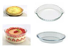Pyrex Oven Resistant Glass Dish for Cake, Pie, Ramekin Souffle