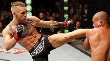Del coner McGregor UFC Cage Fighter boxeo pared arte cartel impresión de Deportes de Lona