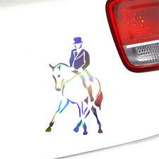 Cowboy Horse Riding Decal Car Window Laptop Bumper Auto Home Wall Vinyl Sticker