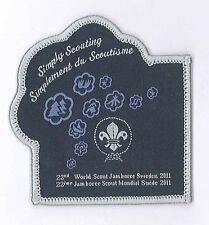 2011 World Scout Jamboree OFFICIAL SCOUTS PARTICIPANTS Patch