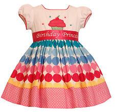 Bonnie Jean Girls Princess Polka Dot Cupcake Birthday Party Dress 2T 3T 4T New