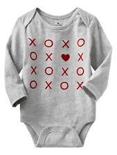 Gap Toddler Girl Red Heart OnePiece  Tic Tak Toe bodysuit 3-18m NWT