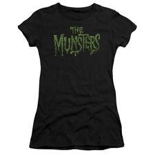 The Munsters Distress Logo Juniors Short Sleeve Shirt