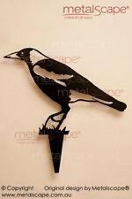 Magpie 2 Walking Metal Garden Art - Australian Made