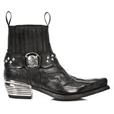 New Rock Stiefel Boots Stiefelette Western Python schwarz M.WST005-C1 30 tage