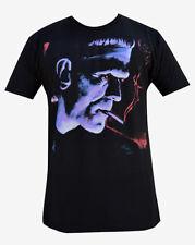 Gothic Punk Mens Franky Clothing Shirt Goth Black Purple Monster Christmas