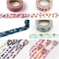 4 Seasons Range Of Washi Masking Decorative Paper Tape