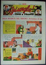 GIUNGLA IL GIORNALE DI CINO E FRANCO ANNO I VOL 1 - 1938 - RISTAMPA NERBINI 1975