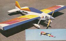 Giant Scale Giant Big Hots Aerobatic Sport Plane Plans, Templates & Instructions