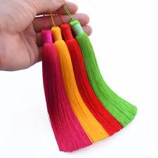 1pc 15cm Ice Silk Tassel Car Pendant Tassels Jewelry Making DIY 39 Colors