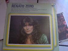 LP INCONTRO CON RENATO ZERO RCA LINEA TRE 1977 EX/N-MINT
