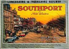Southport, Vintage Lancashire & Yorkshire Railways  Poster reproduction.