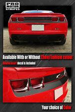 Chevrolet Camaro Rear Fascia Blackout/Highlight Stripes 2010 2011 2012 2013