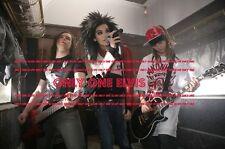German Rock Band TOKIO HOTEL Bill Kaulitz PHOTO Tom Kaulitz Gustav Schäfer 001