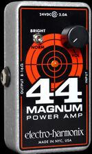 EHX ELECTRO HARMONIX 44 MAGNUM POWER AMP Pedal sized