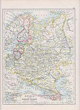 1931 MAP ~ Russia e bordo stati ~ LETTONIA FINLANDIA Polonia Lituania