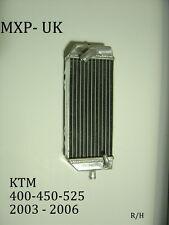 KTM450SXF RADIATOR 400 525 2003 2004 2005 2006 RIGHT SIDE RAD 450SXF (005B)