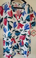 Ladies V-Neck Scrub/UniformTop  -  Various sizes - Various Prints