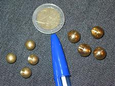 4 boules laiton Ø8 mm raccord fin de lustre lampe horloge appliques guariche  F