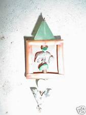 ODD Metal with Green Stones Pinback LOOK