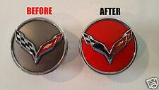 Chevy Corvette StingRay C7 Rim Cap Decals 2014 2015 2016 2017