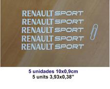 ADHESIVO PEGATINA STICKER DECAL AUFKLEBER AUTOCOLLANT X5 RENAULT SPORT
