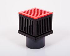 Ablaufcube-overflow-Cube con pettini per acquari Incl. COPERCHIO PER BLISTER PVC-TUBI