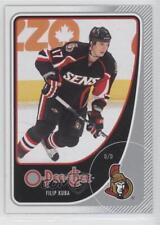 2010-11 O-Pee-Chee #436 Filip Kuba Ottawa Senators Hockey Card
