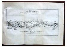 1805 TROLLHATTA - GOTA KANAL - Von Platen - 2 Maps - DE