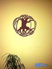 Wandtattoo Baum mit wurzeln Sinn Ornament Deko