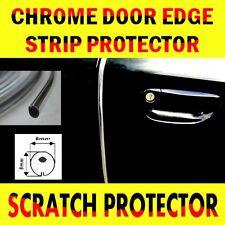 Chrome Car Door Edge Guard Protector Moulding Trim 6 Meters Molding Strip