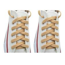 """2 Pairs Flat 27,36,45,54,63"""" Athletic Sports Sneaker """"Beige"""" Shoelace Strings"""