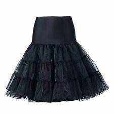 Frauen der 50er Jahre Petticoat Röcke Tutu Reifrock Unterrock