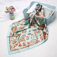 Women Fashion Hijab Scarf Boho Style Paisley Print Soft Shawl Stole Wrap 90x90cm