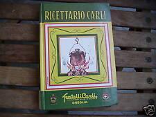 RICETTARIO CARLI, fratelli carli - senza data