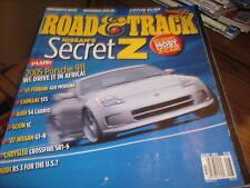 Road & Track Aug 2004 Nissan's Secret Z