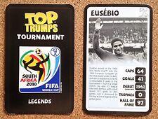 TOP TRUMPS Tournament 2010 World Cup football card - VARIOUS (Lot 02)