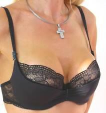 Lejaby Halbschale Bügel BH Crystal in schwarz 08731