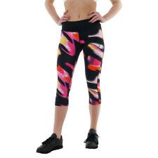 Women's New ASICS Capri 3/4 Leggings Running Tight Fitness Gym Sports