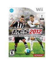 Pro Evolution Soccer 2012 (Nintendo Wii, 2011)