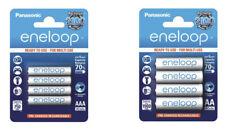 Panasonic eneloop Akkus AAA Micro 800 mAh / AA Mignon 2000 mAh auflad. Batterien