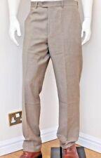 Kirkland Signature Homme gabardine 100% laine Flat Front Robe Pantalon 4 Tailles BNWT
